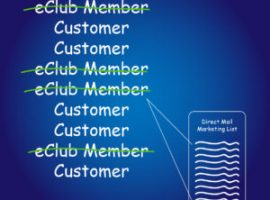 Remove Your eClub Members from Your Direct Mail