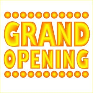 Card Mailer Announces New Restaurant: 6,000 Families Attend Grand Opening